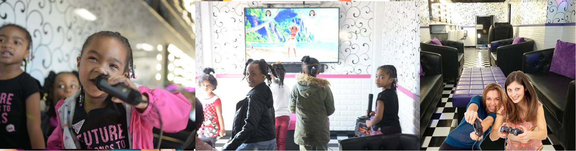 Girls video game karaoke birthday party in Newburgh, Port Jervis and Middletown, NY
